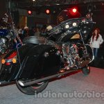 Indian Chieftain side view from the launch in India