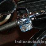 Indian Chieftain switchgear from the launch in India