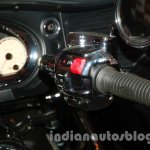 Indian Chieftain throttle from the launch in India