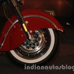 Indian Classic front wheel and disc brake