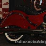 Indian Classic rear wheel