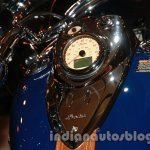 Indian Vintage fuel tank and speedometer