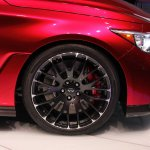 Infiniti Q50 Eau Rouge 21-inch wheel at NAIAS 2014