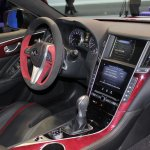 Infiniti Q50 Eau Rouge dashboard at NAIAS 2014