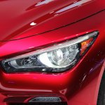 Infiniti Q50 Eau Rouge headlamp at NAIAS 2014