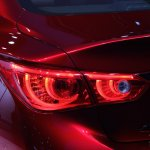 Infiniti Q50 Eau Rouge taillight at NAIAS 2014