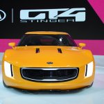 Kia GT4 Stinger concept at 2014 NAIAS front 3