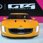 Kia GT4 Stinger concept at 2014 NAIAS front 4