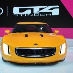 Kia GT4 Stinger concept at 2014 NAIAS front 5