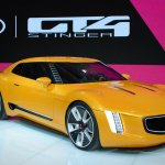 Kia GT4 Stinger concept at 2014 NAIAS front right quarter 2