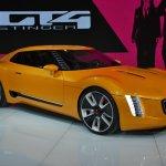 Kia GT4 Stinger concept at 2014 NAIAS front three quarter