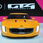 Kia GT4 Stinger concept at 2014 NAIAS front
