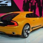 Kia GT4 Stinger concept at 2014 NAIAS rear three quarter