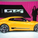 Kia GT4 Stinger concept at 2014 NAIAS side 2