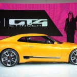 Kia GT4 Stinger concept at 2014 NAIAS side