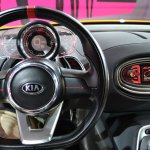 Kia GT4 Stinger concept at 2014 NAIAS steering 2