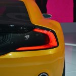 Kia GT4 Stinger concept at 2014 NAIAS taillight