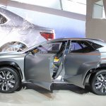 Lexus LF-NX Concept doors at NAIAS 2014