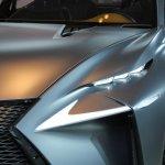 Lexus LF-NX Concept headlamp at NAIAS 2014