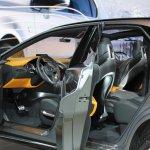 Lexus LF-NX Concept interior at NAIAS 2014