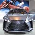 Lexus LF-NX Concept nose at NAIAS 2014