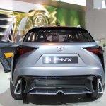 Lexus LF-NX Concept rear at NAIAS 2014