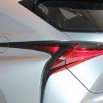 Lexus LF-NX Concept taillight at NAIAS 2014