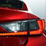 Lexus RC Coupe taillight at NAIAS 2014