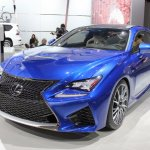 Lexus RC F front three quarters at NAIAS 2014