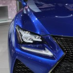 Lexus RC F headlamp at NAIAS 2014