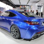Lexus RC F rear three quarters at NAIAS 2014