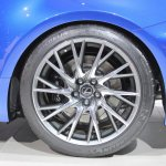 Lexus RC F wheel design at NAIAS 2014