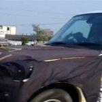 Mahindra Scorpio Facelift spied Gujarat