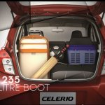 Maruti Celerio luggage compartment capture