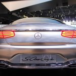 Mercedes-Benz Concept S-Class Coupe exhaust at NAIAS 2014