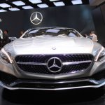 Mercedes-Benz Concept S-Class Coupe front at NAIAS 2014