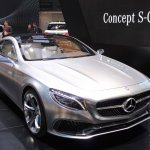 Mercedes-Benz Concept S-Class Coupe front three quarter at NAIAS 2014