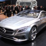 Mercedes-Benz Concept S-Class Coupe front three quarter left at NAIAS 2014