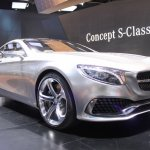 Mercedes-Benz Concept S-Class Coupe grille at NAIAS 2014