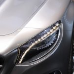 Mercedes-Benz Concept S-Class Coupe headlamp at NAIAS 2014