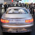 Mercedes-Benz Concept S-Class Coupe rear at NAIAS 2014