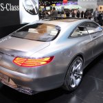 Mercedes-Benz Concept S-Class Coupe rear three quarter at NAIAS 2014