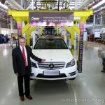 Mercedes C Class Grand Edition Live Pics launch 2