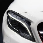 Mercedes GLA 45 AMG at 2014 NAIAS headlight