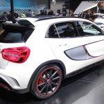 Mercedes GLA 45 AMG at 2014 NAIAS rear quarter