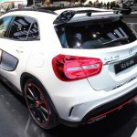 Mercedes GLA 45 AMG at 2014 NAIAS rear three quarter