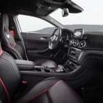 Mercedes GLA 45 AMG press shots interior