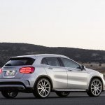 Mercedes GLA 45 AMG press shots taillight