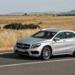Mercedes GLA 45 AMG press shots