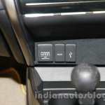 New Honda City diesel AUX and USB port from the launch